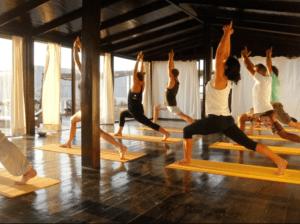 Yoga at Villa Madala